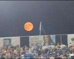 Moon Rising over NYSEG Stadium