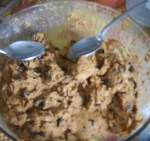 Pumpkin Chocolate Chip Cookie Dough