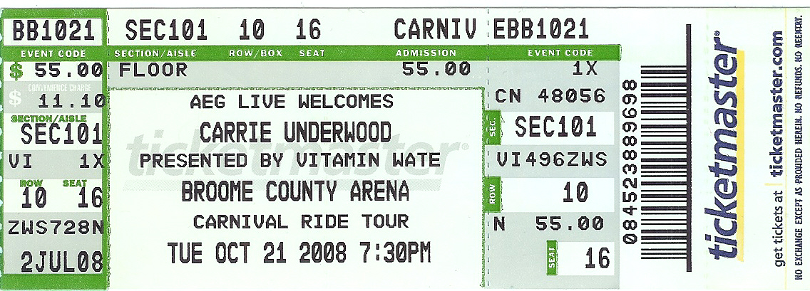 Carrie Underwood Tour