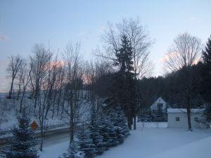 Sun Rising January 1, 2009