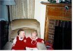 The Twins (#2 and #3) Christmas 1987