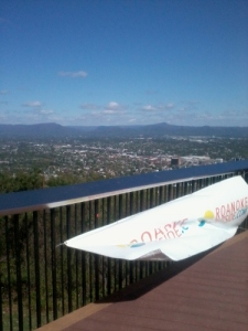 Looking out over the Roanoke Valley