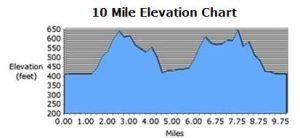 The Mountain Goat 10 Miler in Syracuse, NY - fourth race ever