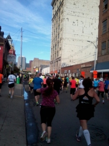 Running thru the Strip District
