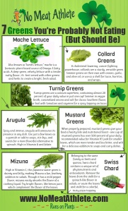Try all these greens!