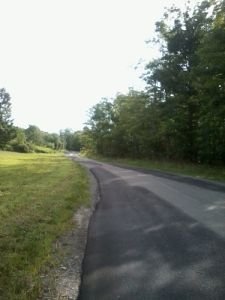 Mile 1.13 and the only flat road along