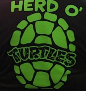 Herd O' Turtles Shirt Back