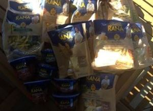 Rana Pasta as it was unpacked