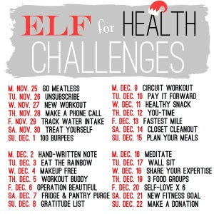 Elf for Health Challenges