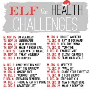 Elf for Health Challenges