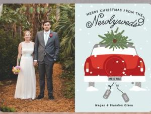 Newlywed from Minted.com