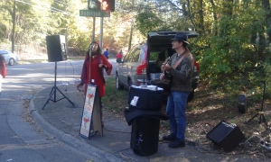 Live music about mile 9 or 10 - Tea Cup Gin