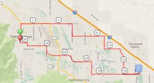 25 mile Tour de Palm Springs