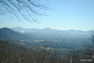 Taken from the Sleepy Gap area during a March trip to Asheville prior to moving.